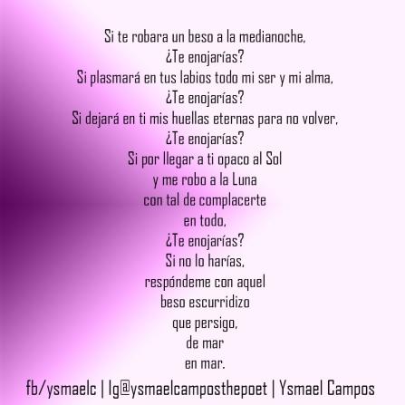 Poema - Te Enojarias