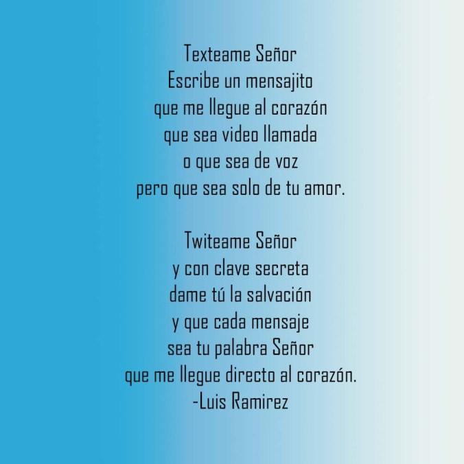 Poem by Luis Ramirez