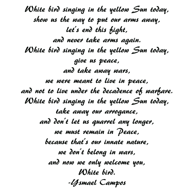 Poem - White Bird