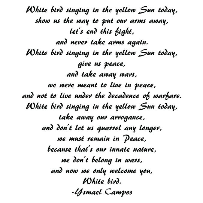 Poem - White Bird