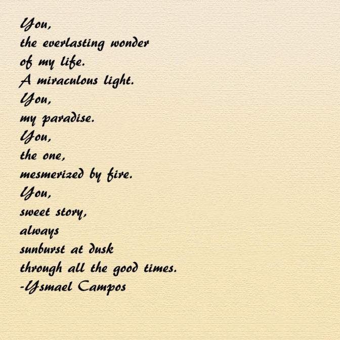Poem - You